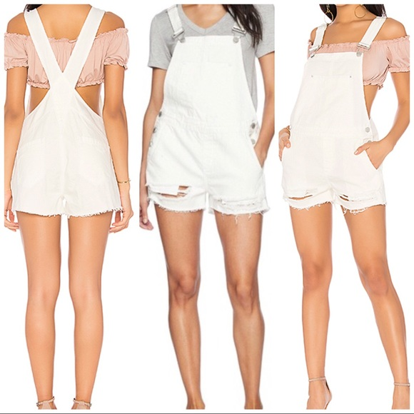 NWT Revolve Blank NYC Origami White Overall